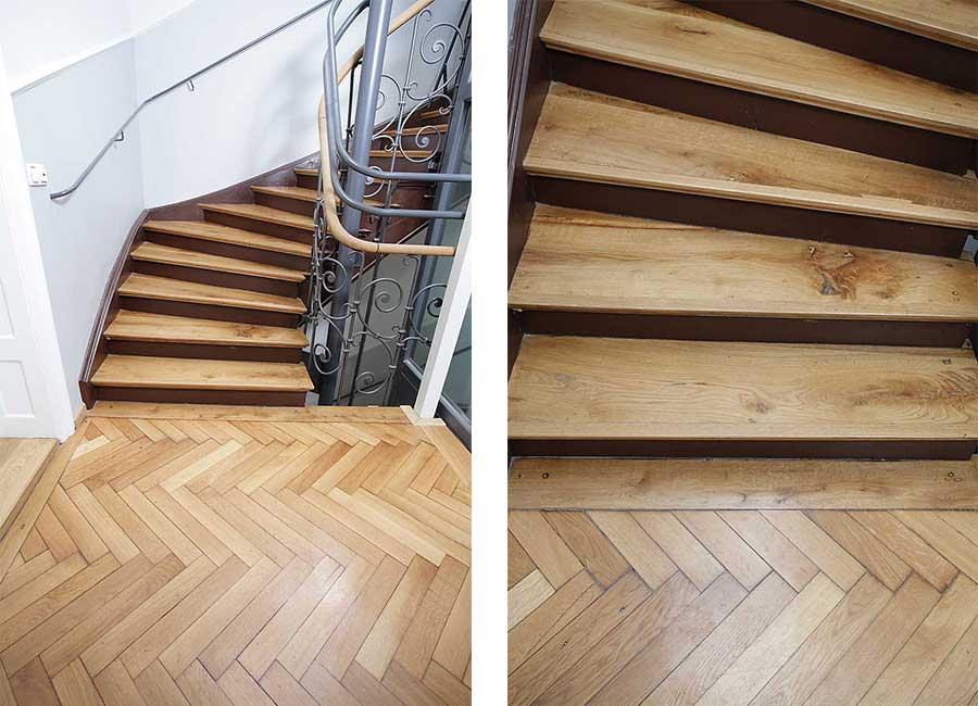 Altbau Treppenhaussanierung In München